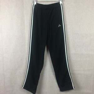 Adidas Jogger Sweatpants 3 Stripes Black Size M